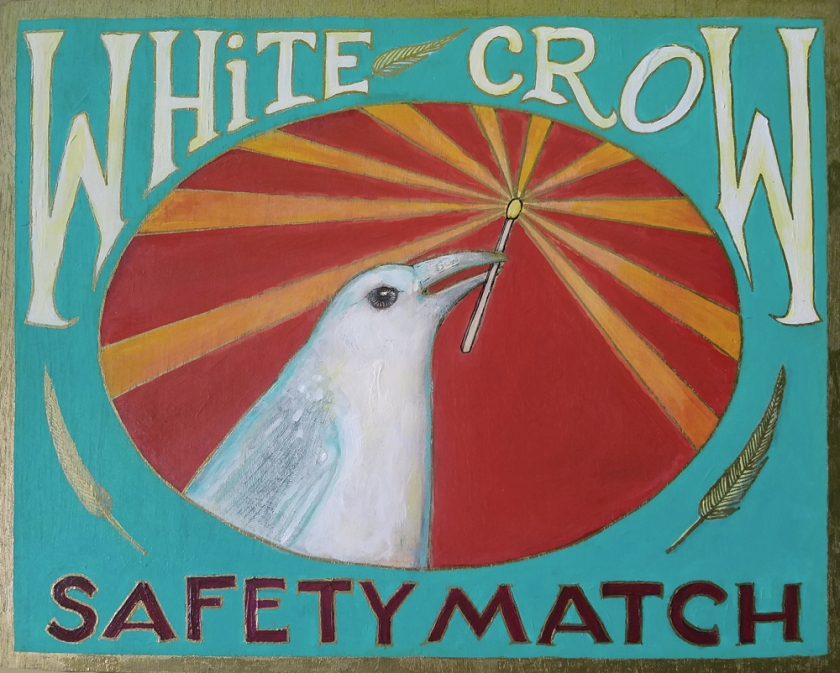 white crow match